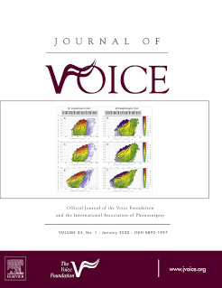 Cover Journal of Voice