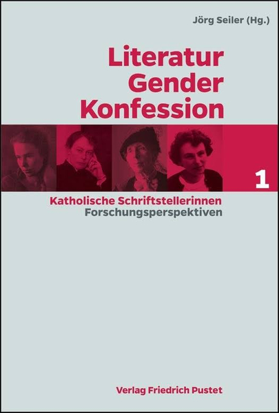Buchcover: Literatur - Gender - Konfession