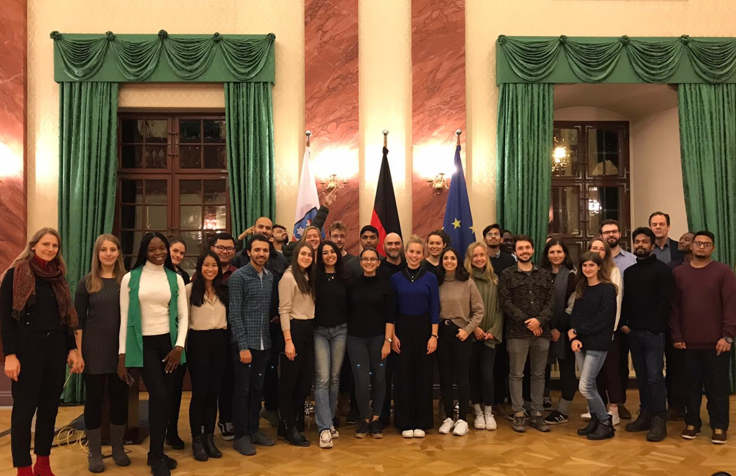 Students of the 2019 Cohort in the Thuringian State Chancellery