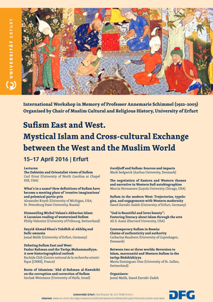 Sufism East and West: Mystical Islam and Cross-cultural Exchange between the West and the Muslim World